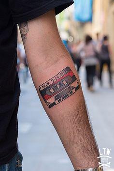 #tattoos #beautiful #colorful #tape