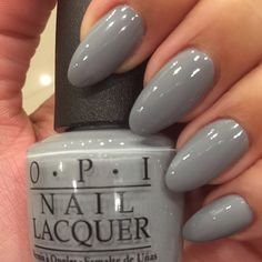 """""""Cement the deal"""" by @opi_products from the new 50 shades of Grey collection…"""