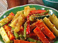 MzTasty's Kitchen, Savor The Flavor: Pickled Vegetables/Acar Awak