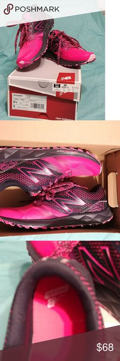 New Balance Speed Ride New Balance Speed Ride womens, purple, pink and pink camo sole. NWT No Damage. sell as is. Thank You for shopping my closet❤ New Balance Shoes