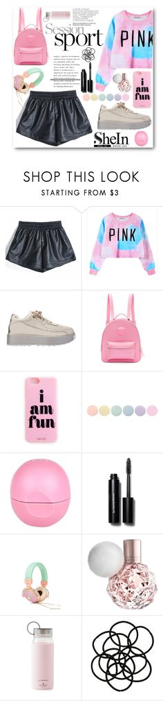 """Martina"" by ragelove ❤ liked on Polyvore featuring Chicnova Fashion, Versace, Deborah Lippmann, River Island, Bobbi Brown Cosmetics, Kate Spade, Monki, women's clothing, women and female"