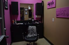 My 1st in home Salon! www.SalonRachael.com