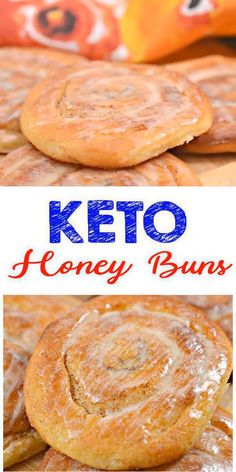 Here is a quick & easy homemade honey buns keto recipe. If u r looking for delicious, tasty, & moist cinnamon roll for a low carb diet then try this one out. Yummy almond flour pizza keto honey buns recipe - great grab & go breakfast, snack or treat. Low Carb Desserts, Low Carb Recipes, Diet Recipes, Healthy Recipes, Cheap Recipes, Quick Recipes, Comida Keto, Keto Cinnamon Rolls, Honey Buns