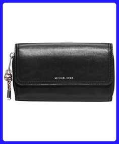 37bf93900670 NEW AUTHENTIC MICHAEL KORS ISABLE SMOOTH LEATHER WALLET CLUTCH (Black) -  Wallets (*Amazon Partner-Link)