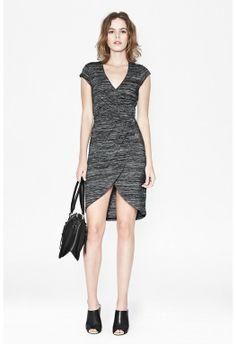 Summer Space Wrap Dress