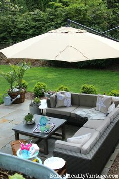 Beautiful patio make