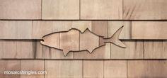 decorative shingle patterns bluefish | House carving | Pinterest