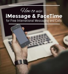 How to use Apple's iMessage and Facetime for Free International Messaging and Calls | UncommonGrad - super easy to follow guide with step by step instructions!