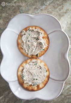 Sardine Rillettes ~ Heavenly spread for crackers, made with canned sardines, cream cheese, shallots, green onions, and lime juice. ~ SimplyRecipes.com