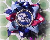 tennessee titans loopy bow