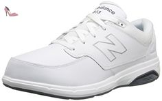 New Balance Mens MW813 Walking Shoe White 9.5 2E US