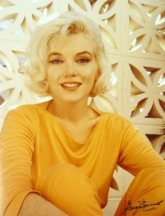 George Barris: Marilyn Monroe in Orange Pucci: from The Last Photos, 1962
