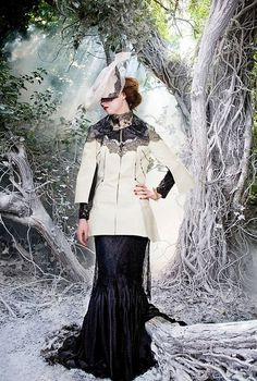 Fairytale Couture: Claire O Connor's Fall/Winter Collection 2010 - #dress #runway #couture #fashion #style #angelic #ethereal