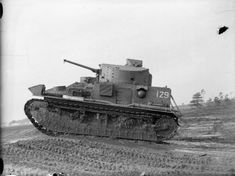 Vickers Medium Mk II tank of the Royal Tank Regiment on manoeuvres at Bovington Camp, Dorset, November Cromwell Tank, Tank Warfare, North African Campaign, Armored Fighting Vehicle, Military Pictures, Ww2 Tanks, Armored Vehicles, Rc Vehicles, British History