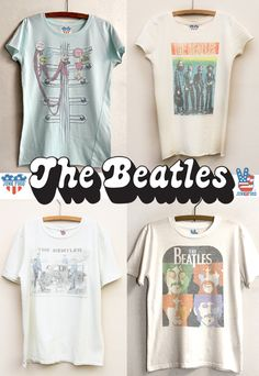 Beatles tees for kids...wear the fab four!  www.junkfoodclothing.com
