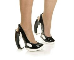 We are in l.o.v.e. with these orca-inspired slingback heels! How about you?
