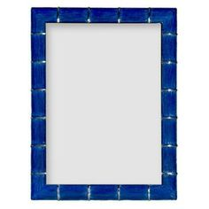 Check out this item at One Kings Lane! Marlene Frame, 5x7, Cobalt