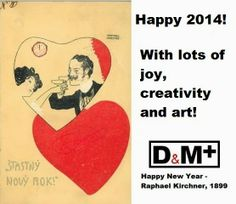 Happy 2014! Art and creativity! ;-)
