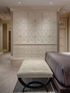 master bedroom built ins