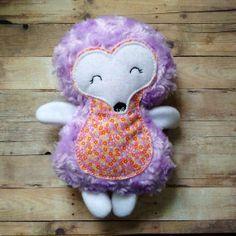 Hedgehog Plush Stuffed Animal Woodland Toy Gift by lilliannamarie, $18.00