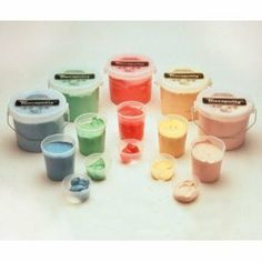 Cando Theraputty Resistive Exercise Putty - Set of 6 resistances - 6 oz. by Cando. $45.34. Cando® Theraputty exercise material has become the standard in resistive hand exercise material. Each color-coded putty has a different consistency ranging from xx-soft for strengthening a weak hand grasp, to extra-firm for developing a stronger grip.