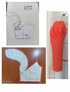 Sleeve pattern alteration that will create a lovely draping effect when sewn with pleats. Sleeve pattern alteration that will create a lovely draping effect when sewn with pleats. No automatic alt text available. 27 elegant photo of custom sewing patterns Sewing Hacks, Sewing Tutorials, Sewing Projects, Pattern Drafting Tutorials, Techniques Couture, Sewing Techniques, Dress Sewing Patterns, Clothing Patterns, Frock Patterns
