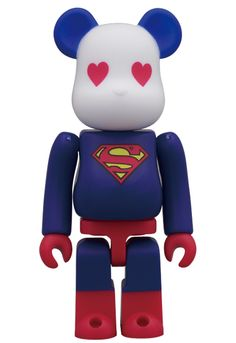 MEDICOM TOY - BE@RBRICK SUPERMAN