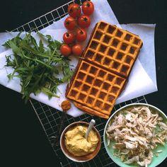 Vafler hitter både som dessert, men også som alternativ til sandwichen. Læs med her og få opskriften på sunde vafler med lækkert fyld