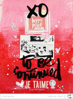 INSPIRED| To Be Continued *Moodboard inspiration* - Scrapbook.com