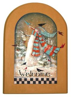 Lynne Andrews Winter Welcome Pattern Packet