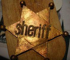 comment faire une étoile de cheriff