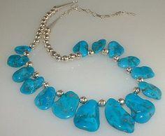 Flat Sleeping Beauty Beads