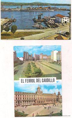 Ferrol del caudillo, Arsenal y  Vistas. Sin circular