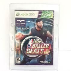 NBA Xbox 360 Linect Baller Beats Majesco Game