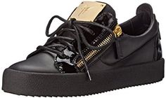 Giuseppe Zanotti Women's Low Top Patent Fashion Sneaker