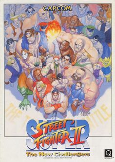 Super Street Fighter 2 by Capcom