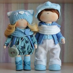 Sweet Couple Interior doll Smile Wedding invitation Exclusive Textile dolls Funny Gift Couples gifts Boy doll For baby For wedding Present Sewing Baby Clothes, Sewing Toys, Doll Clothes, Sewing Stuffed Animals, Cat Doll, Soft Dolls, Fabric Dolls, Baby Boy Outfits, Baby Dolls