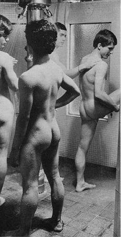 Men In Shower Man Shower Guys Locker Hot Men Vintage Photos