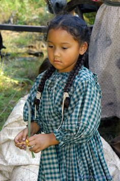 Little Cherokee girl.