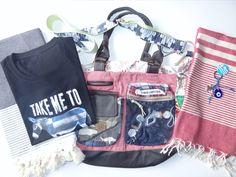 Offer 2 1 Old Cotton Cargo Women Bag (Nr. 1 T-Shirt (Men/Women) 2 Pestemals (your choice) 1 Keychain Shipment EU instead of € Price: € You save Turkish Towels, Tank Tops, Shirt Men, You Bag, Beach Towel, Hand Weaving, Fill, Christmas, Cotton