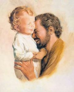 Saint Joseph playing with Baby Jesus St Joseph Catholic, Catholic Art, Catholic Saints, Religious Art, Religious Pictures, Jesus Pictures, Christian Images, Christian Art, Blessed Mother Mary