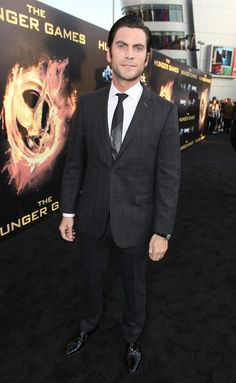 "Wes Bentley arrives at the world premiere of ""The Hunger Games"""