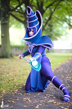 Colorful Yu-Gi-Oh Dark Magician And Dark Magician Girl Cosplay & Colorful Yu-Gi-Oh Dark Magician And Dark Magician Girl Cosplay ...