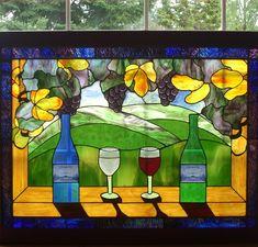 Wine Window - Delphi Artist Gallery