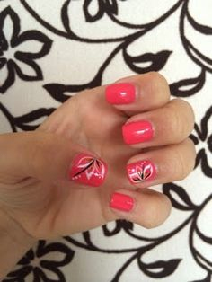 Bright with Flowers Bright, Nails, Flowers, Blog, Beauty, Finger Nails, Ongles, Nail, Cosmetology