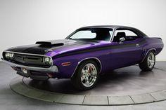 1971 Dodge Challenger Plum Crazy Purple 528 HEMI 650HP