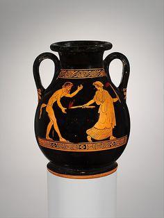 Terracotta Pelike (jar) c.450 BC Classical Greece (Source: The Metropolitan Museum)