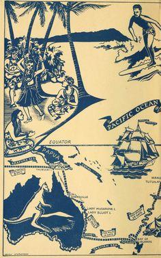 Pacific Ocean Map