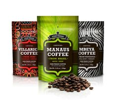 Star trade Coffee on Packaging of the World - Creative Package Design Gallery