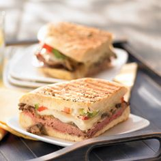 Roast Beef & Provolone Panini to the Rescue!
